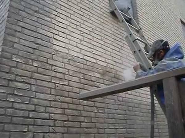 gevel schilderen met cement