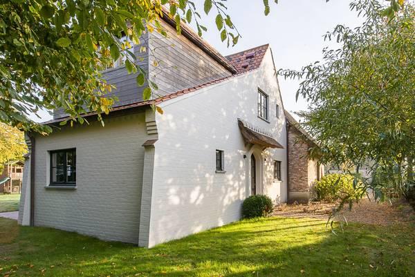 huis met houten gevel