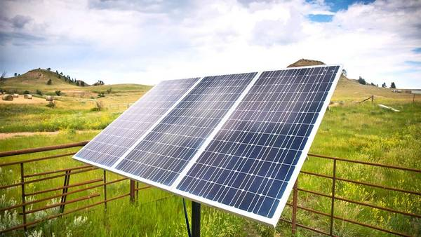 panneau solaire portable 220v