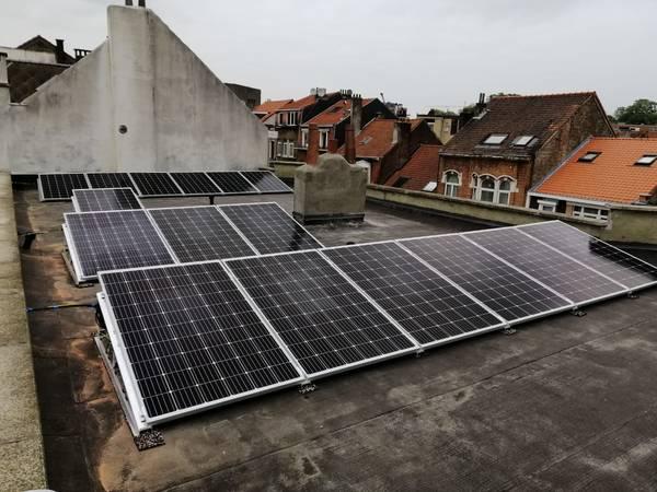 chauffage d'appoint panneau solaire