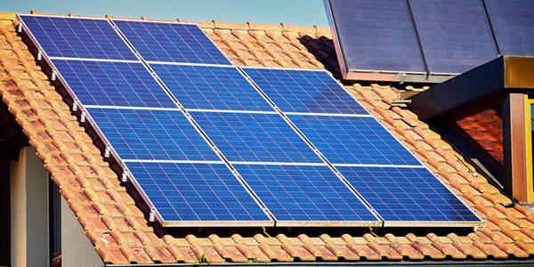 panneau solaire dessin
