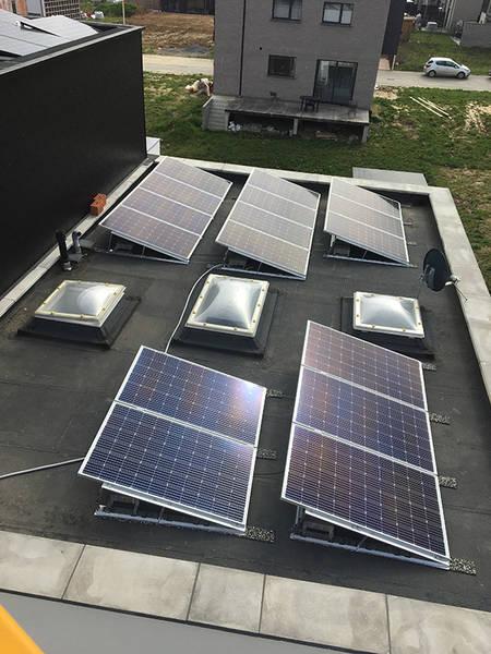 panneau solaire hybride prix
