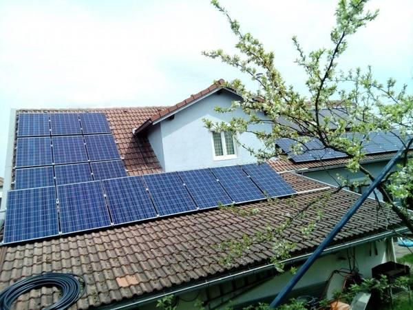 panneau solaire allemagne prix