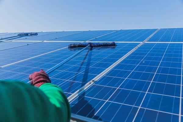 panneau solaire pour l'eau chaude