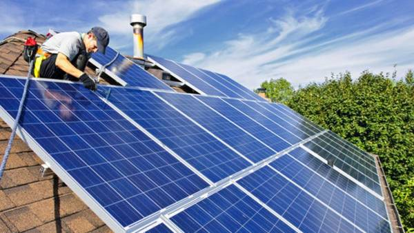 Meilleur Prix Projecteur led exterieur avec panneau solaire : panneau solaire ou photovoltaique 🕵️ Devis Sans Engagement