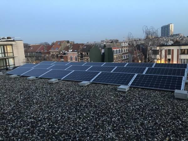 instalation panneau solaire